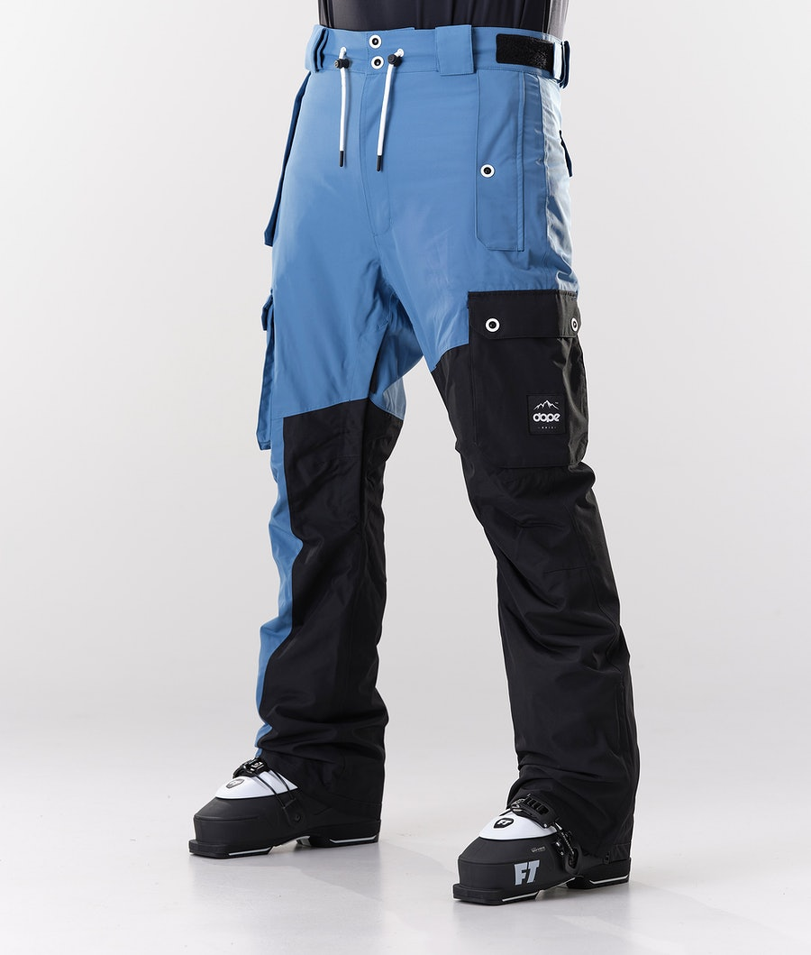 Dope Adept Ski Pants Blue Steel/Black