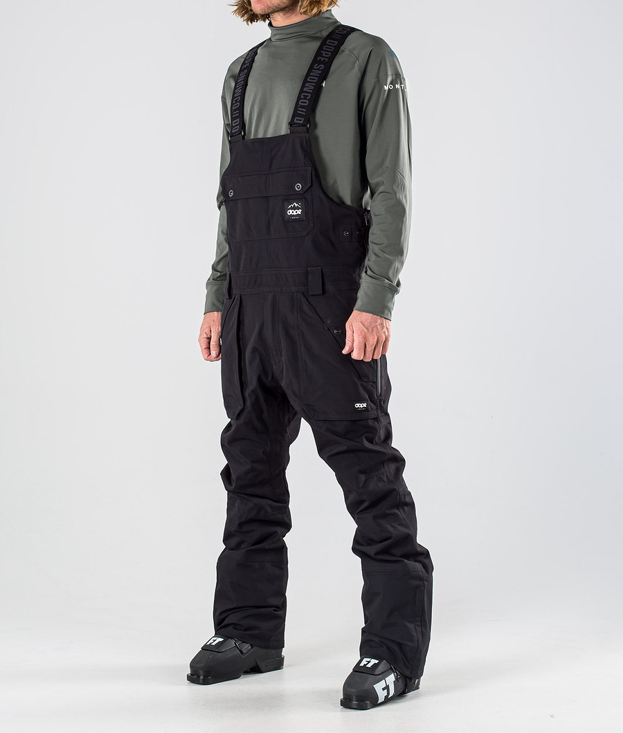 Dope Notorious B.I.B Ski Pants Black