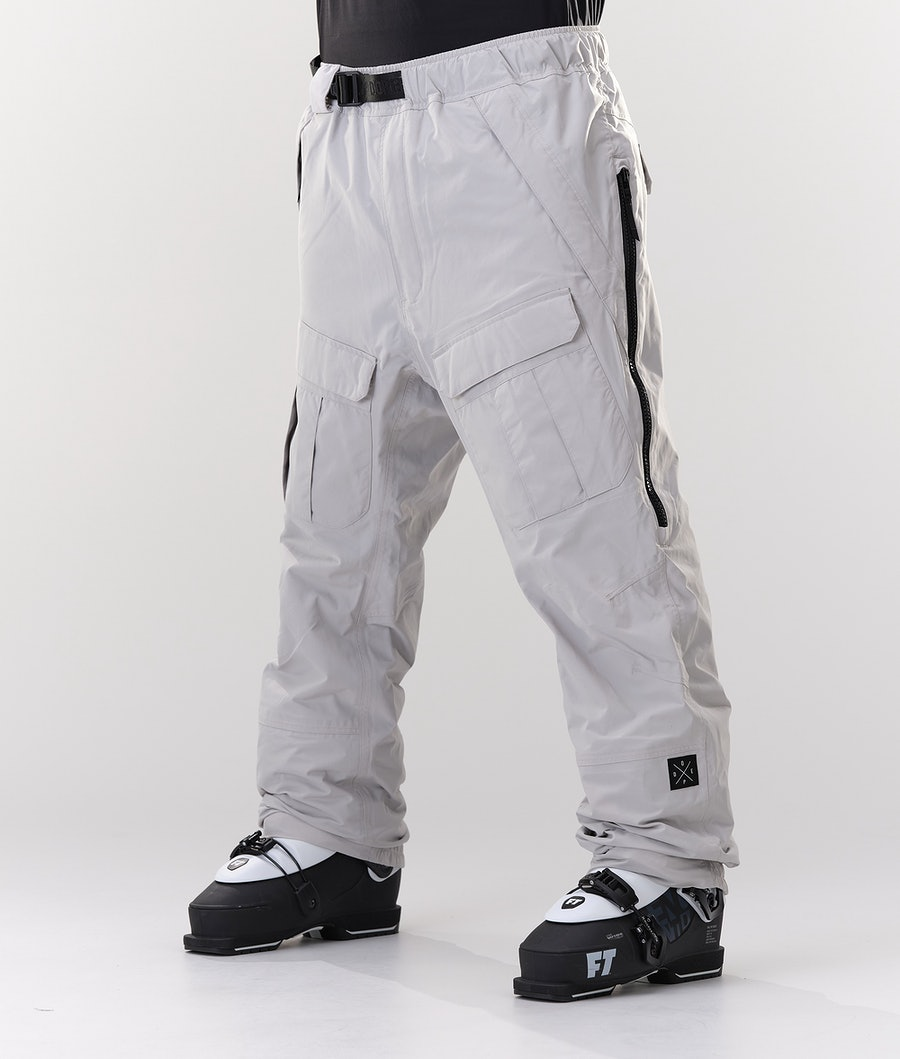 Dope Antek Pantalon de Ski Light Grey