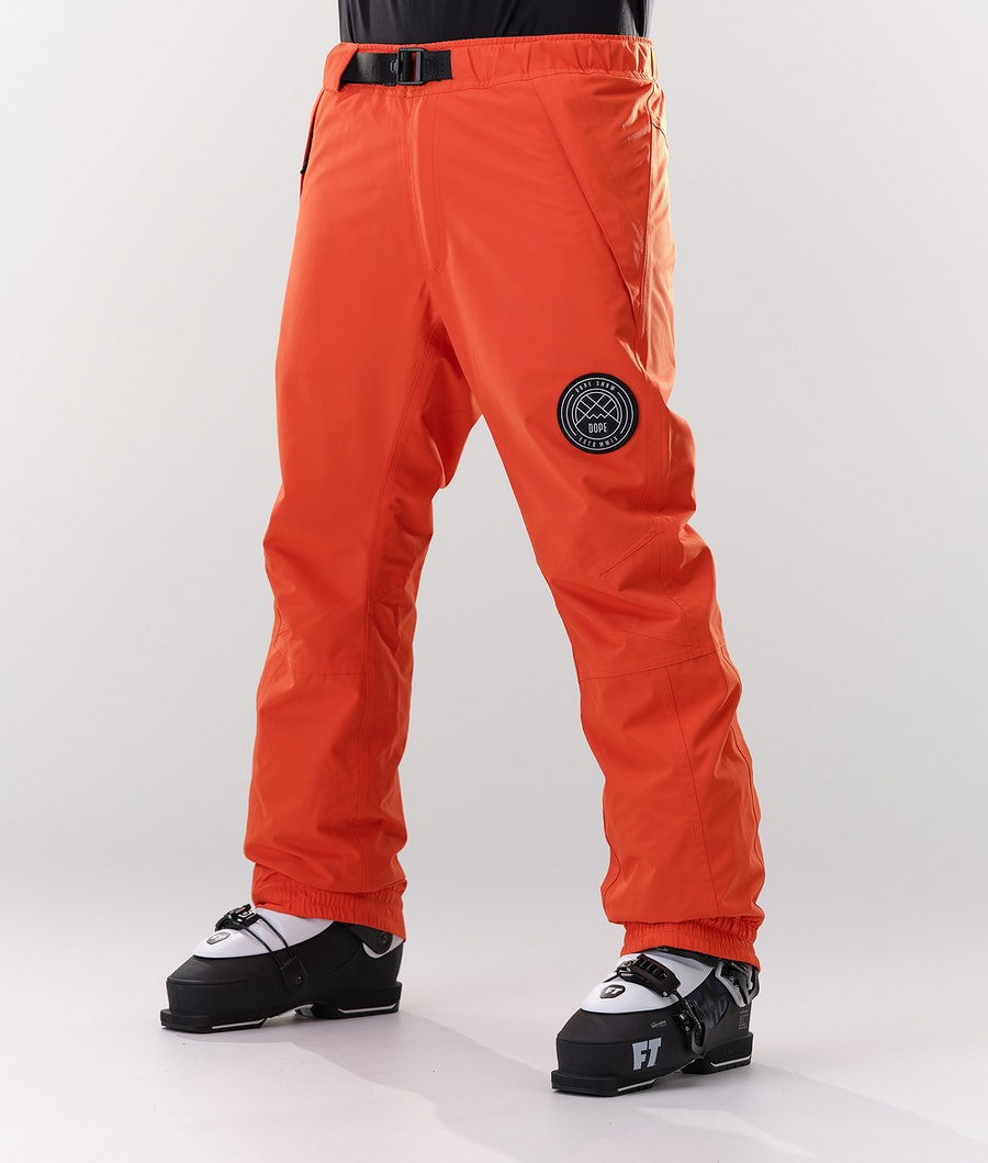 Dope Blizzard Ski Pants Orange