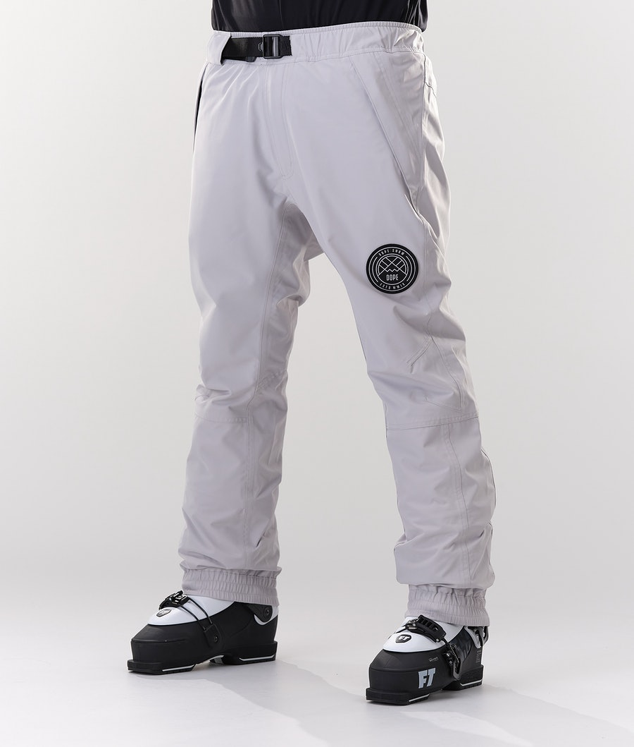 Dope Blizzard Ski Pants Light Grey