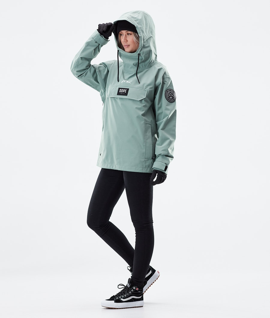 Dope Blizzard PO W Women's Winter Jacket Faded Green