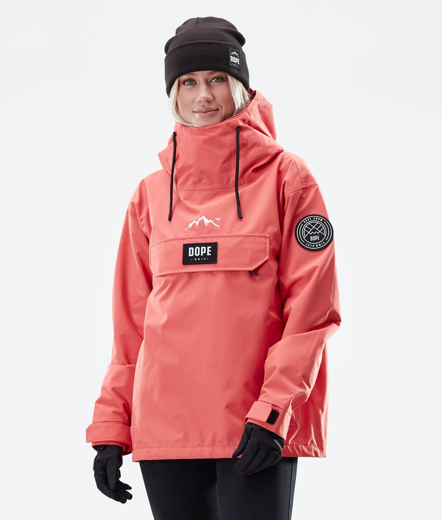 Dope Blizzard PO W Winter Jacket Coral