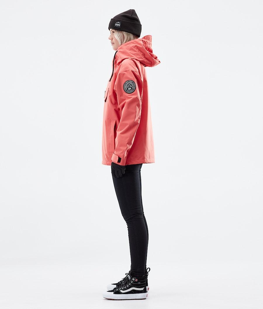 Dope Blizzard PO W Women's Outdoor Jacket Coral