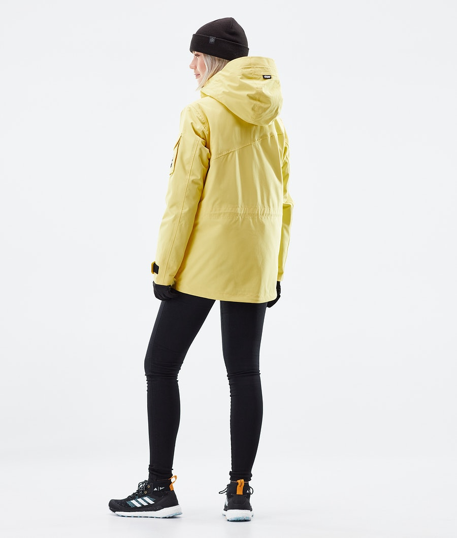 Dope Adept W Women's Winter Jacket Faded Yellow