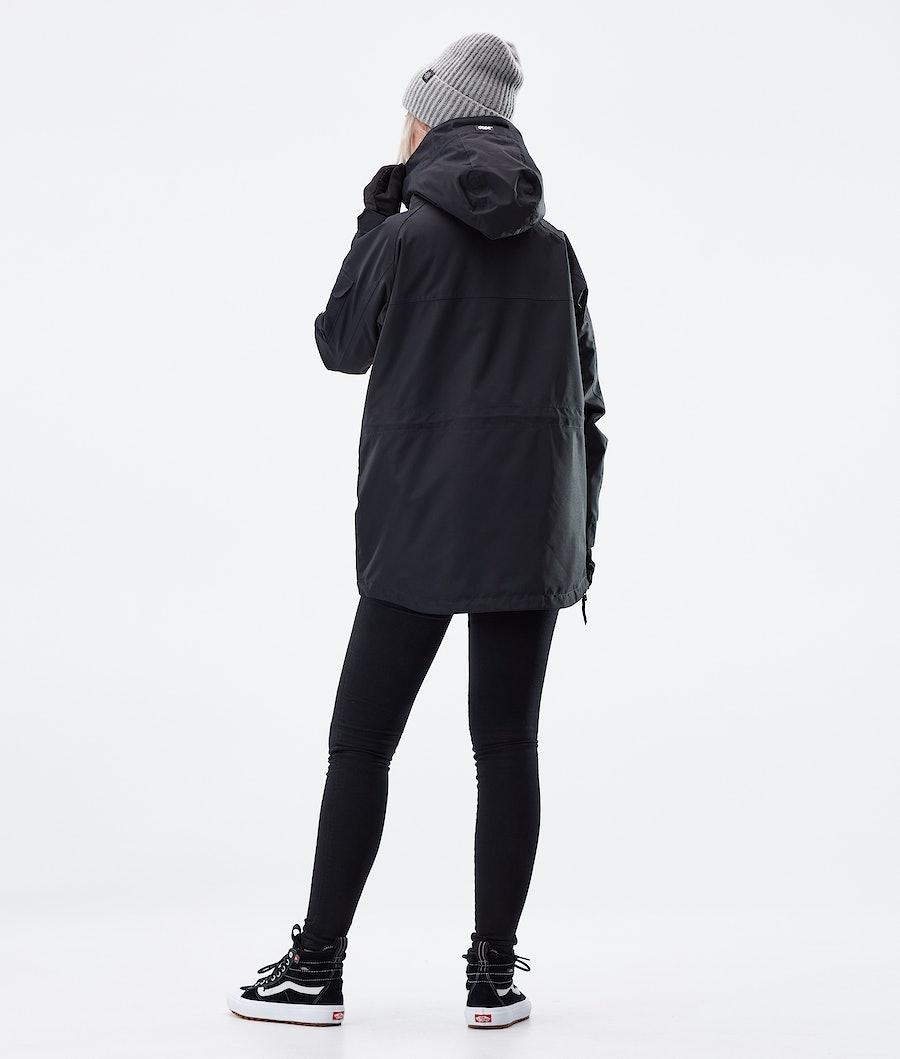 Dope Akin W Women's Winter Jacket Black