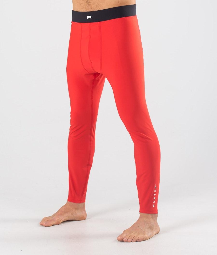 Montec Zulu Superundertøy bukse Red