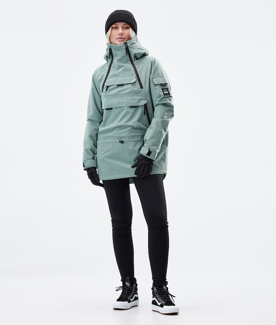 Dope Akin W Veste D' hiver Femme Faded Green