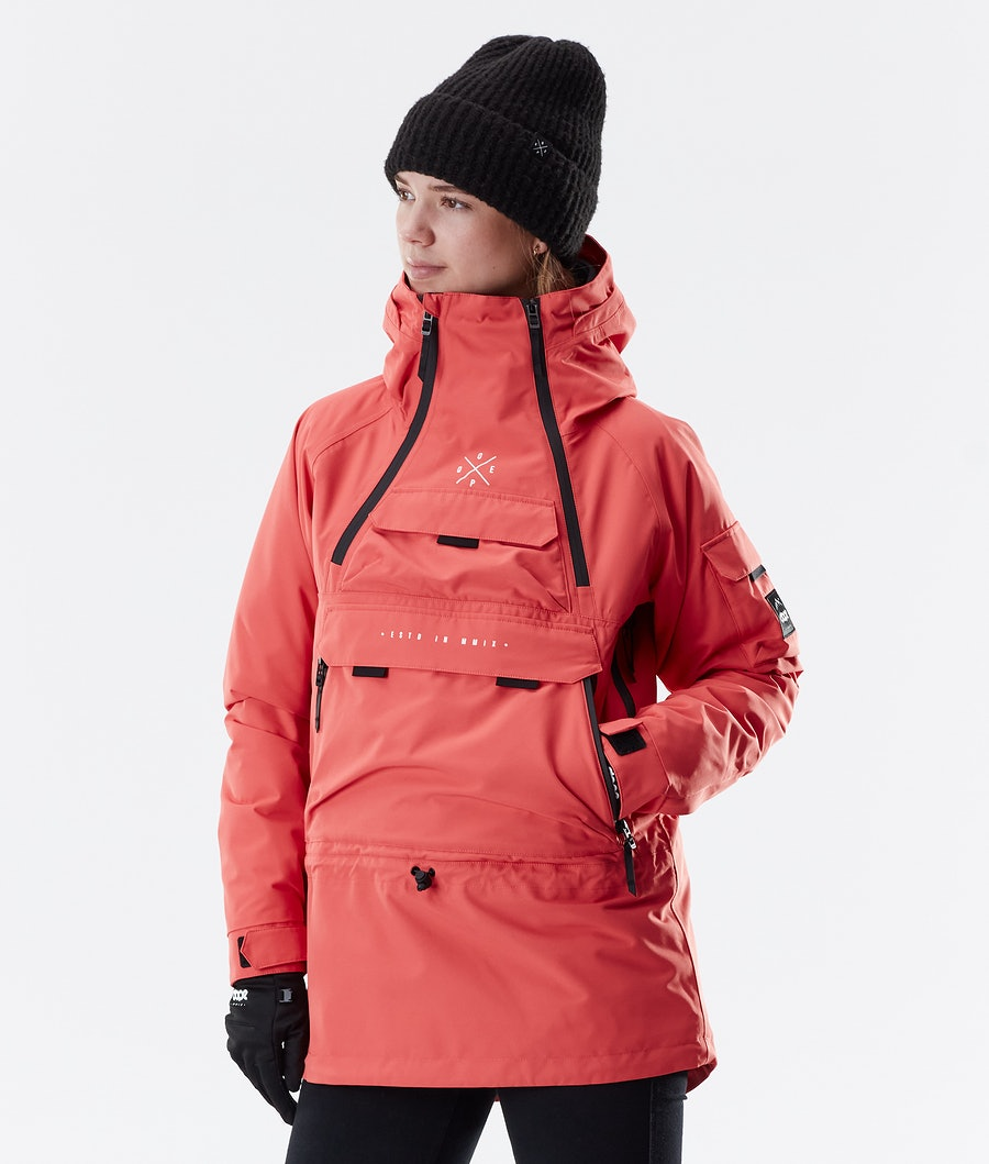 Dope Akin W Winter Jacket Coral