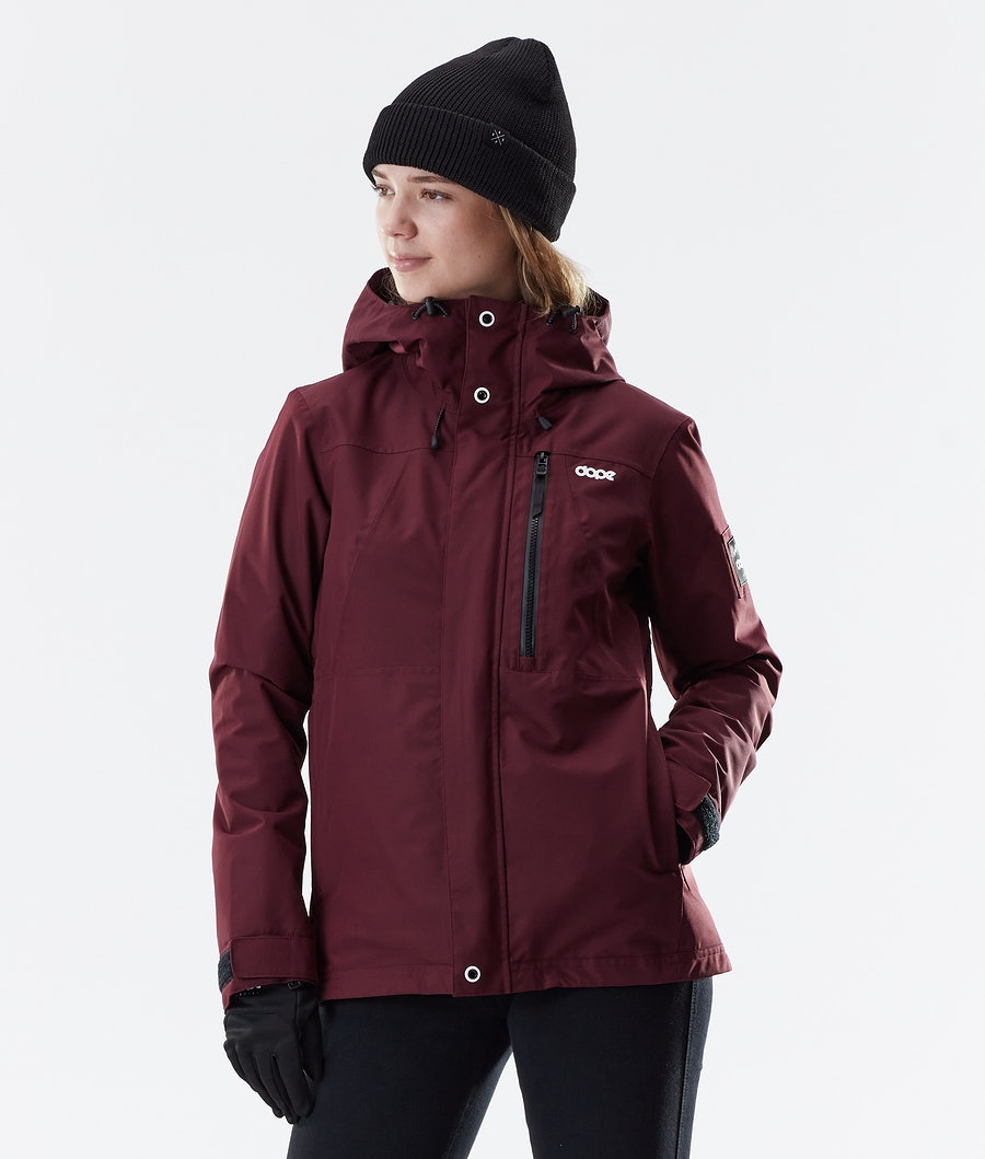 Dope Divine Winter Jacket Burgundy