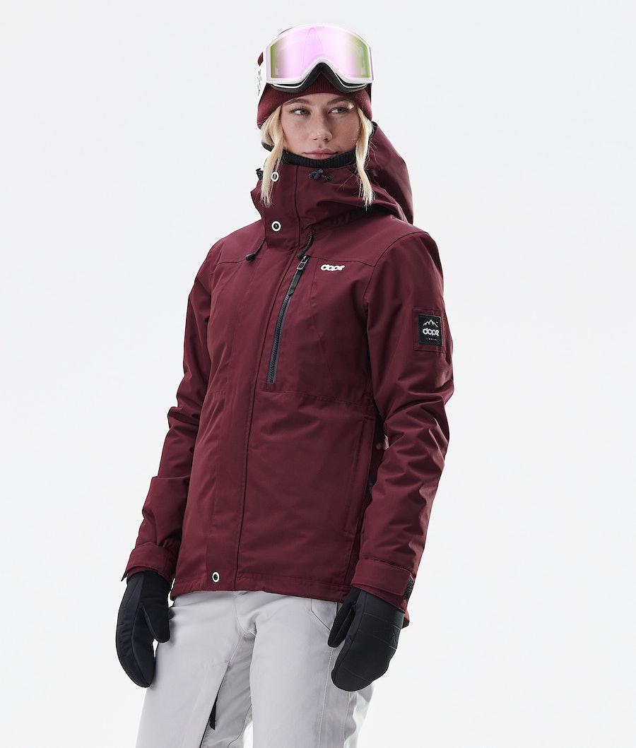 Dope Divine Veste de Ski Burgundy