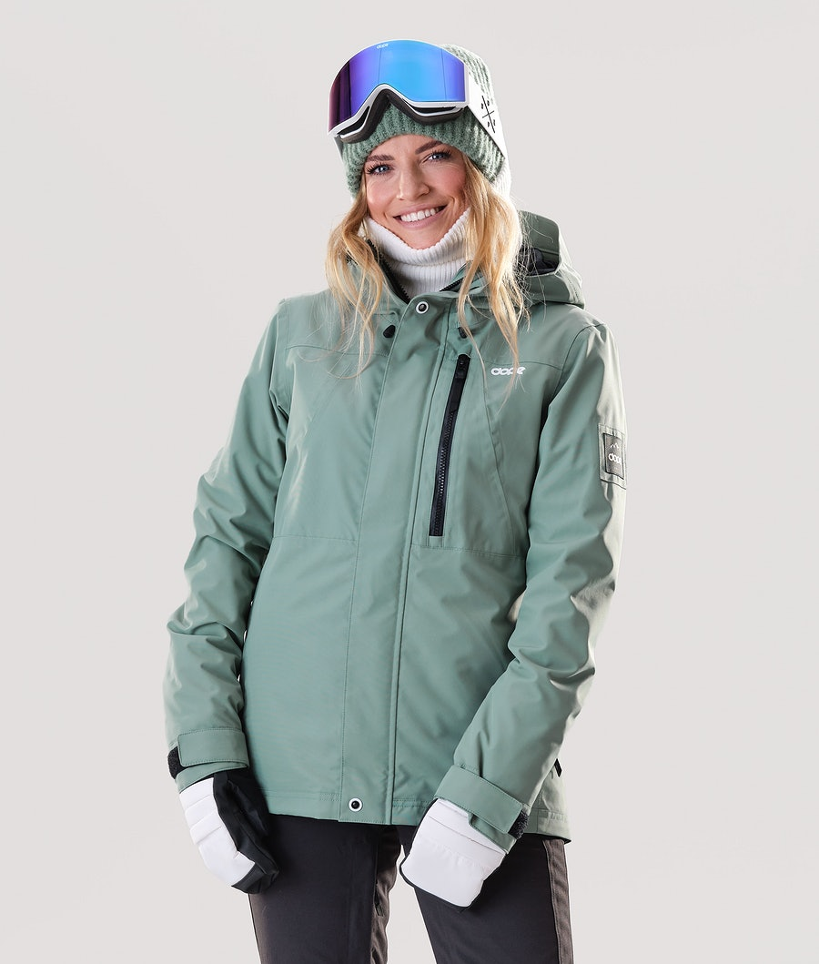 Dope Divine Ski Jacket Faded Green