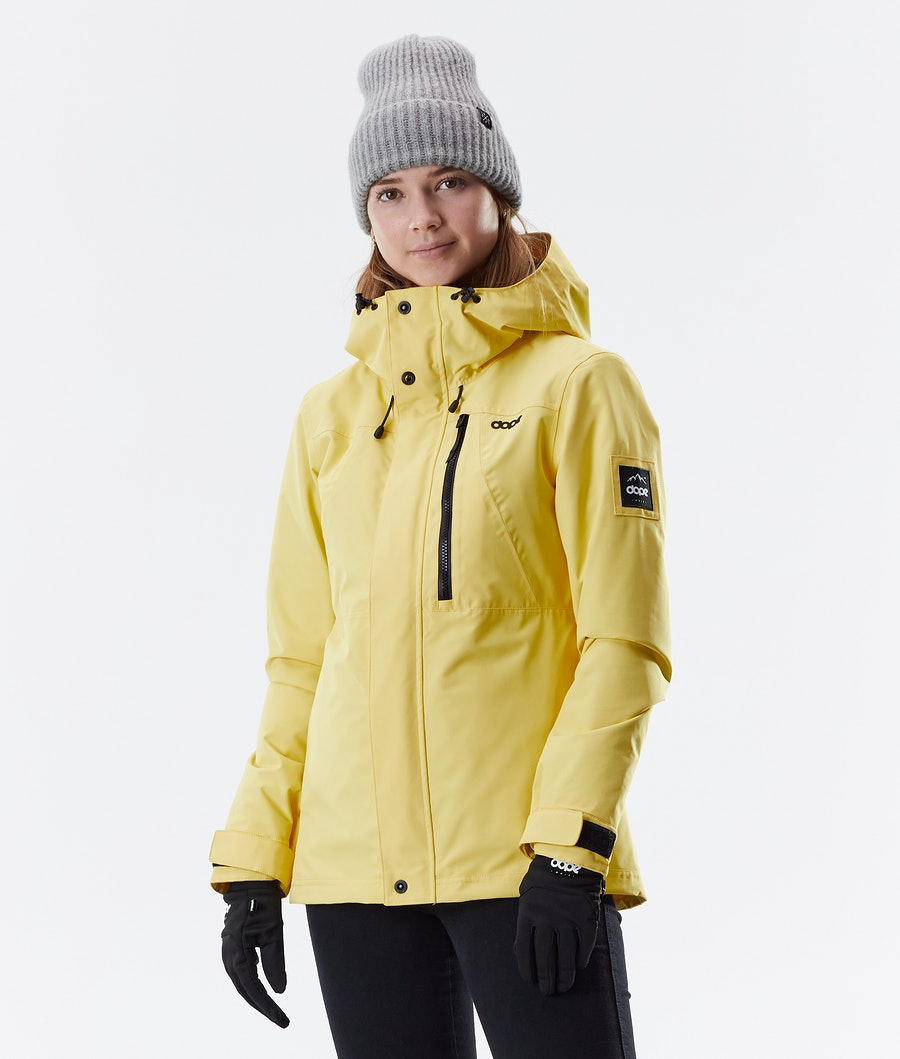 Dope Divine Winter Jacket Faded Yellow