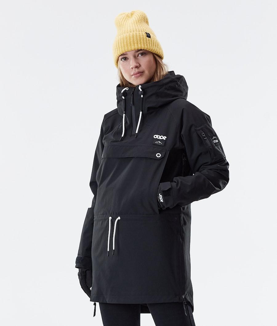 Dope Annok Long Winter Jacket Black