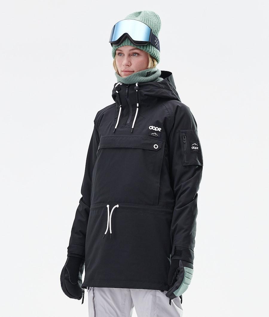 Dope Annok Long Ski jas Black
