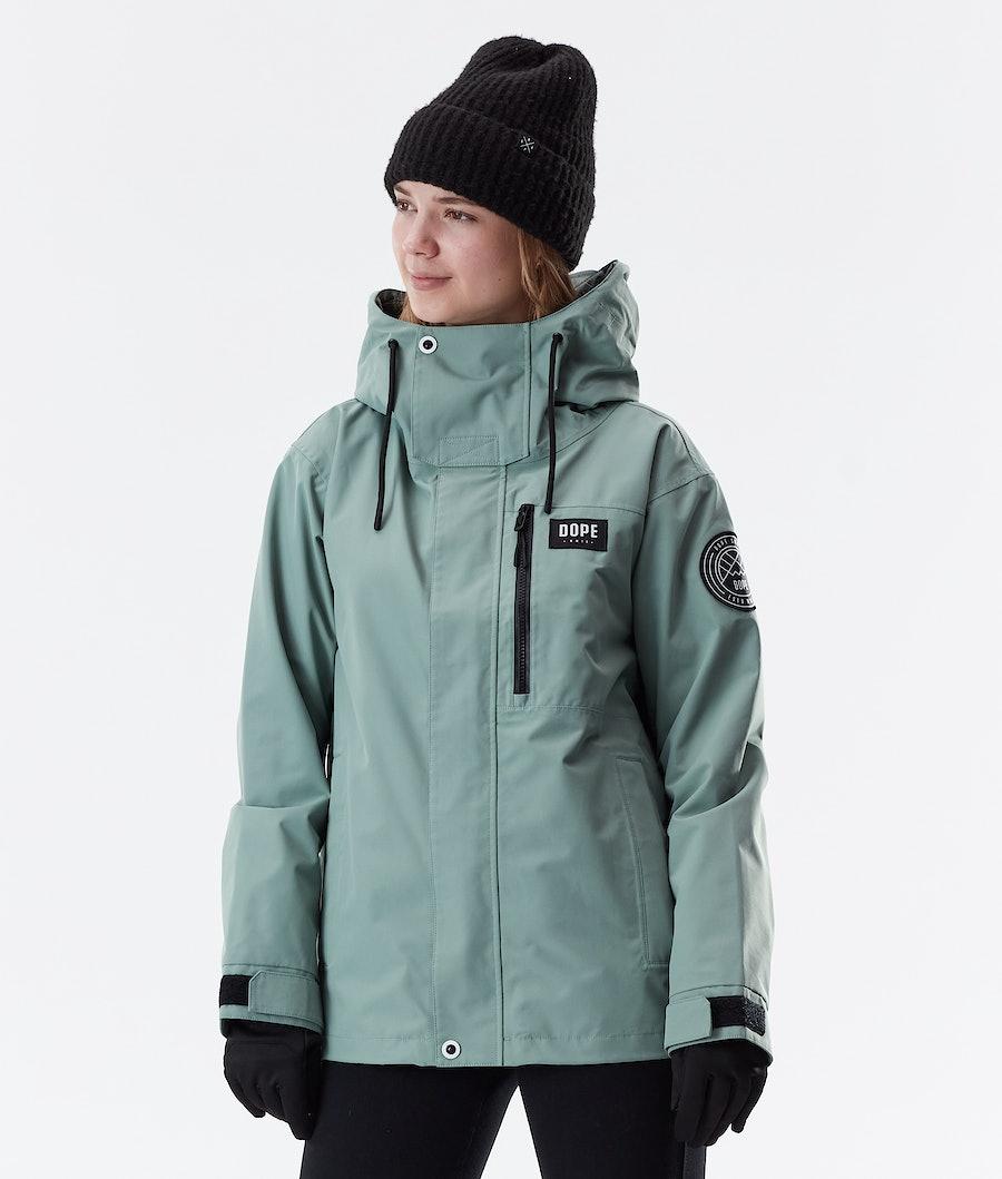 Dope Blizzard FZ W Winter Jacket Faded Green