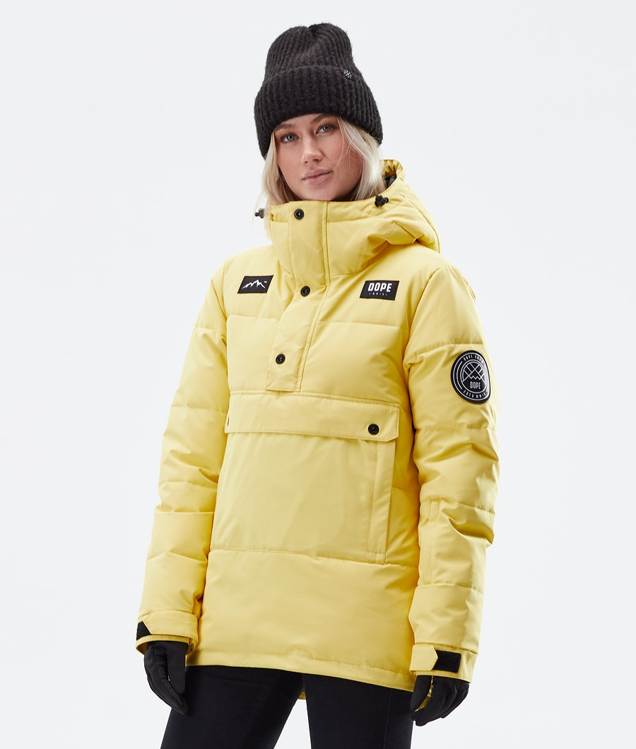 Dope Puffer W Veste D' hiver Faded Yellow