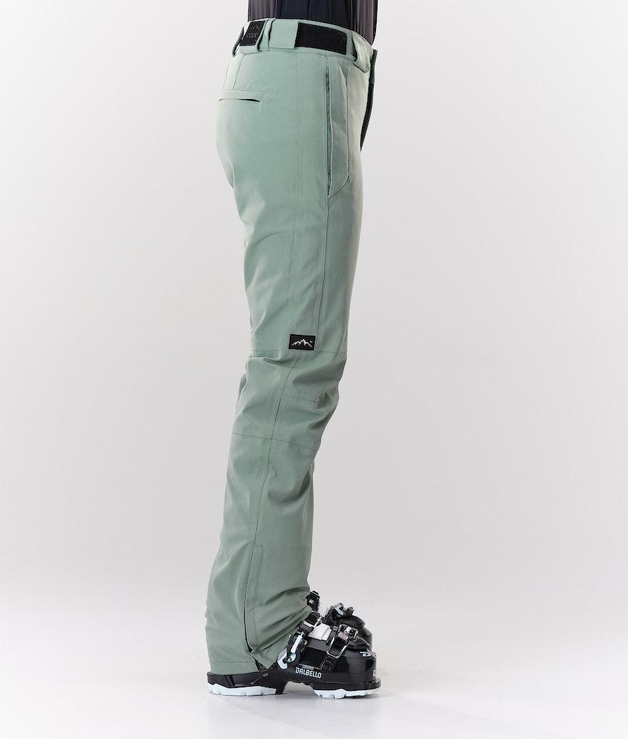Dope Con Pantalon de Ski Femme Faded Green