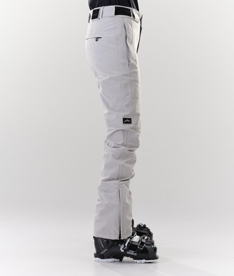Dope Con Pantalon de Ski Femme Light grey