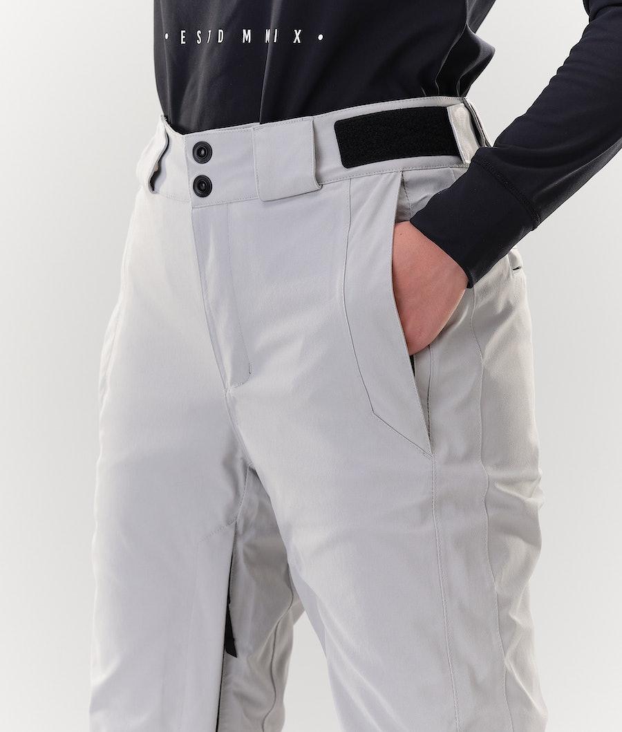 Dope Con Women's Ski Pants Light grey