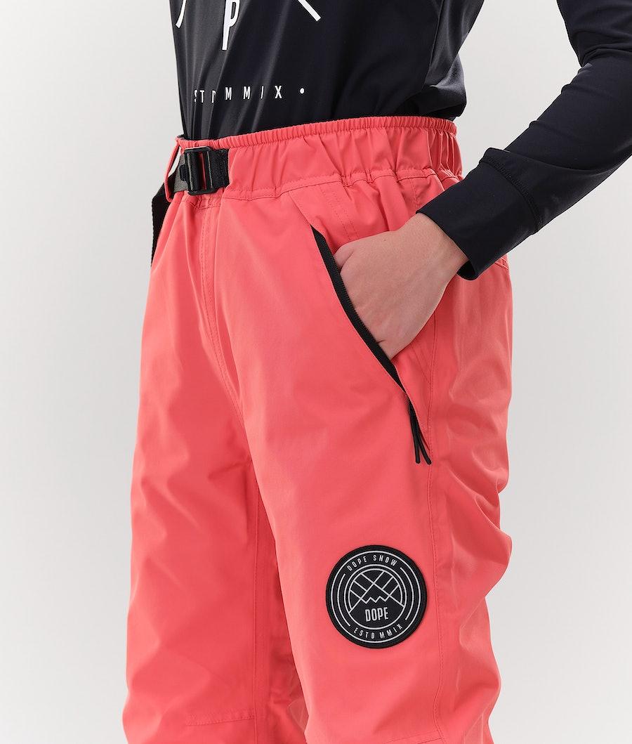 Dope Blizzard W Pantaloni da Sci Donna Coral