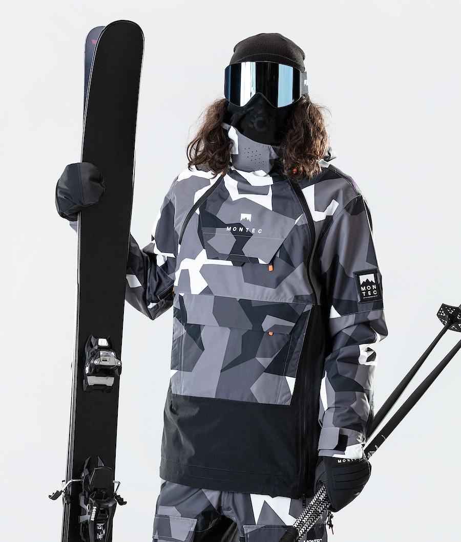 Montec Doom Skidjacka Arctic Camo/Black