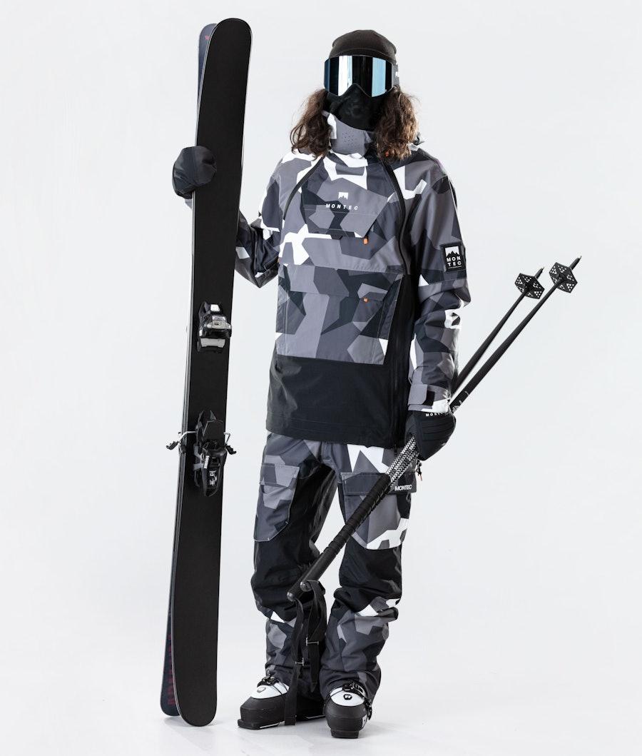 Montec Doom Ski Jacket Arctic Camo/Black