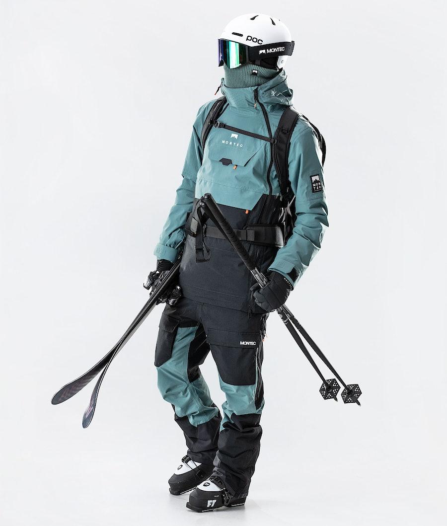 Montec Doom Skijakke Atlantic/Black