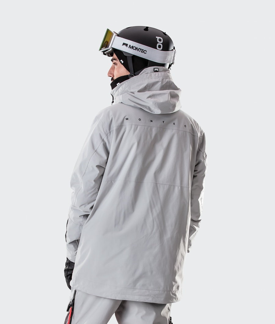 Montec Doom Laskettelutakki Light Grey