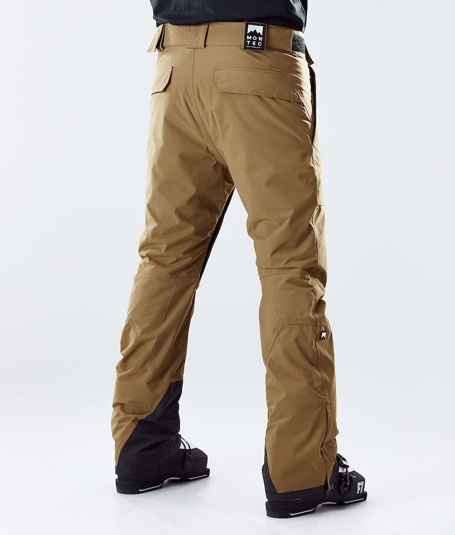 Montec Dune Ski Pants Gold