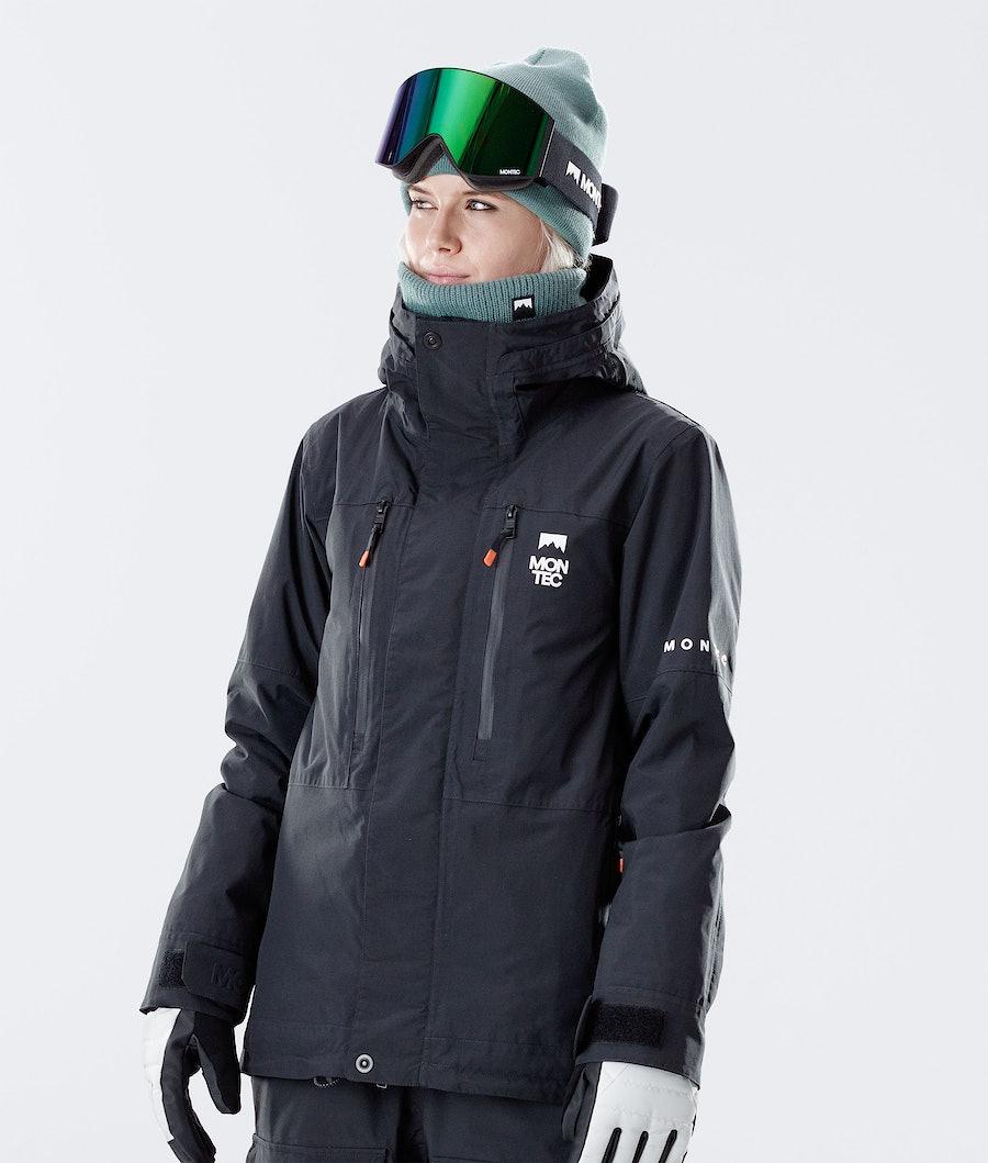 Montec Fawk W Veste de Ski Black