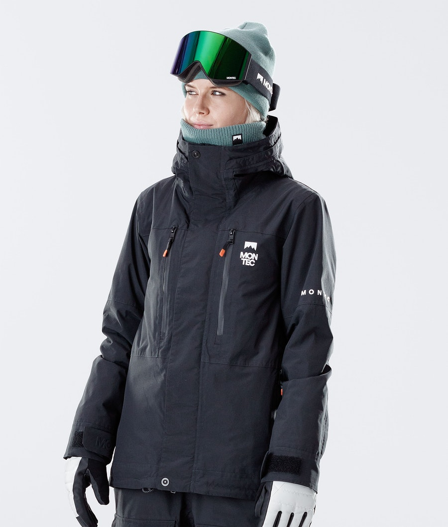 Montec Fawk W Ski Jacket Black