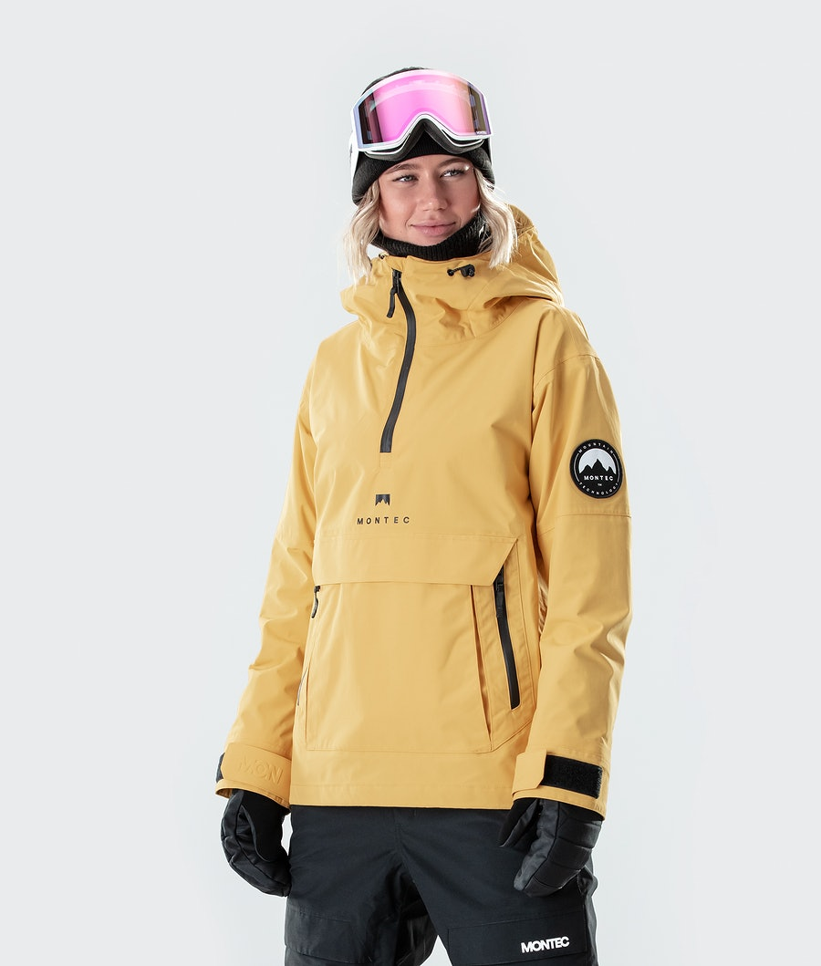 Montec Typhoon W Skijacke Yellow