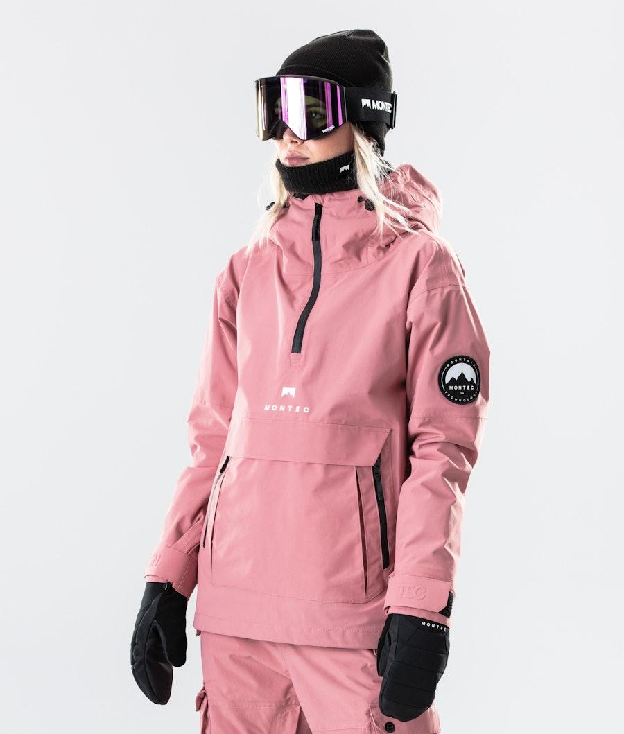 Montec Typhoon W Skijakke Pink