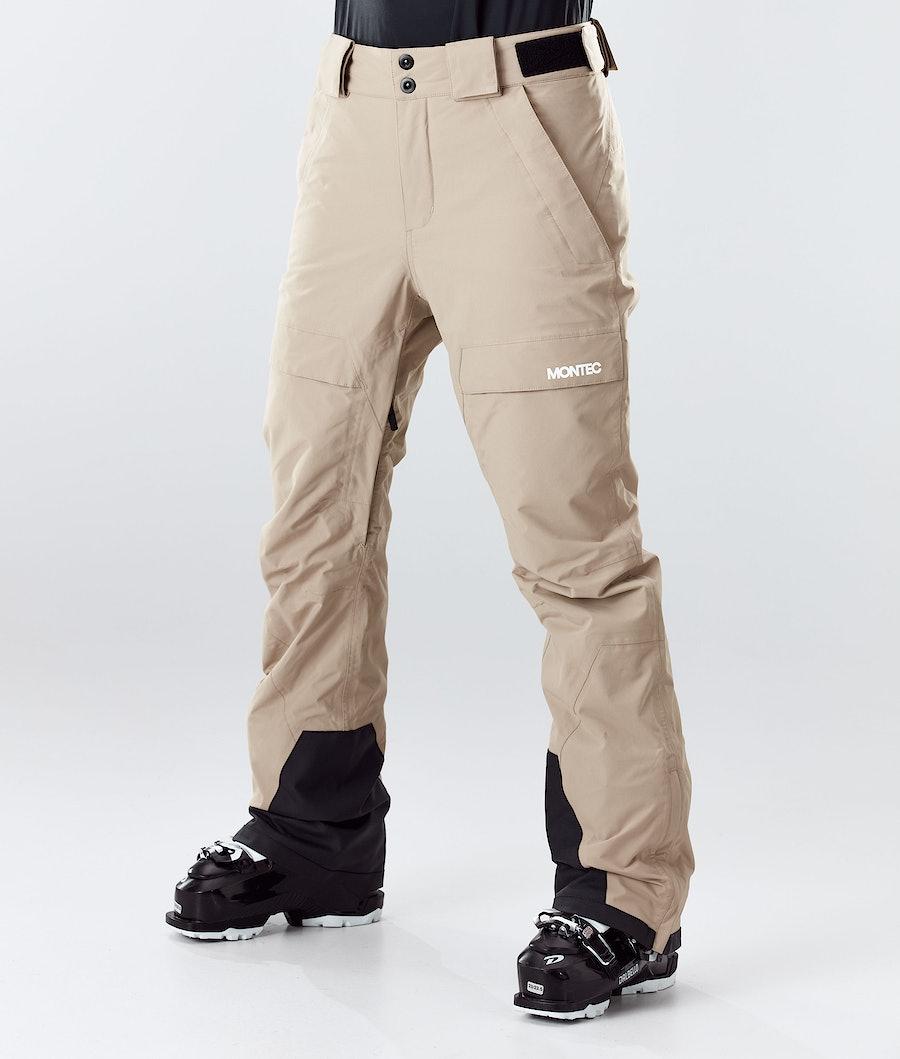 Montec Dune W Pantaloni da Sci Donna Khaki