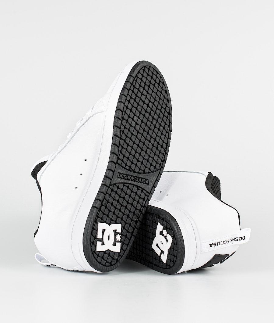 DC Court Graffik Schuhe White/Black/Black