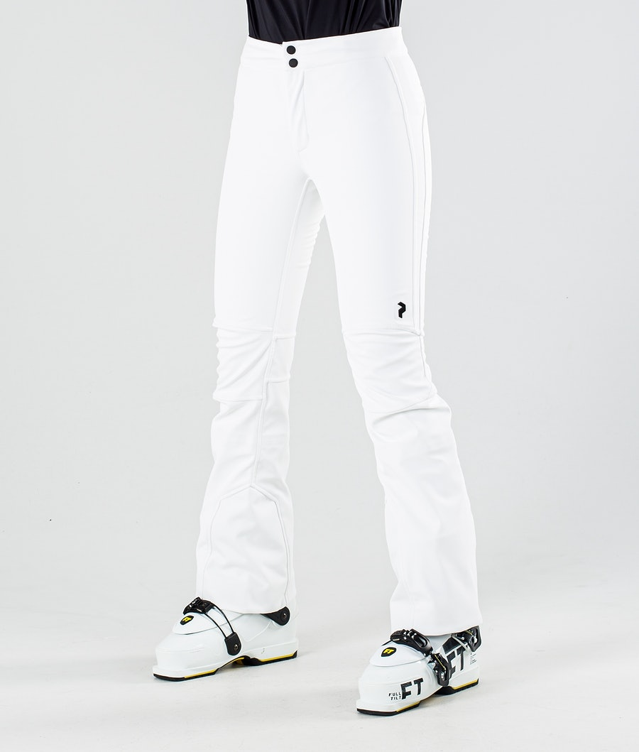 Peak Performance Stretch Pantalon de Ski Offwhite