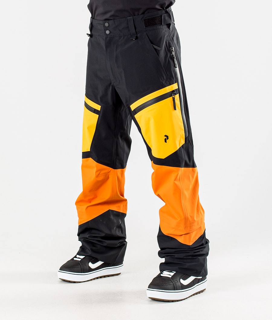 Peak Performance Gravity Snowboardbyxa Orange Altitude