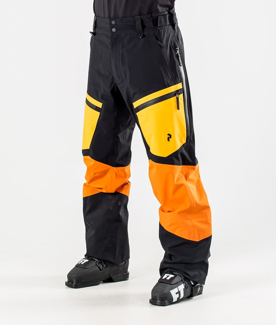 Peak Performance Gravity Skibroek Orange Altitude
