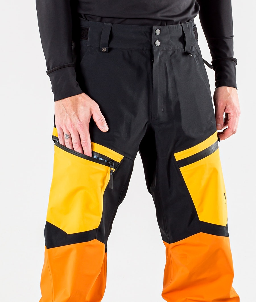 Peak Performance Gravity Snowboardbukse Orange Altitude