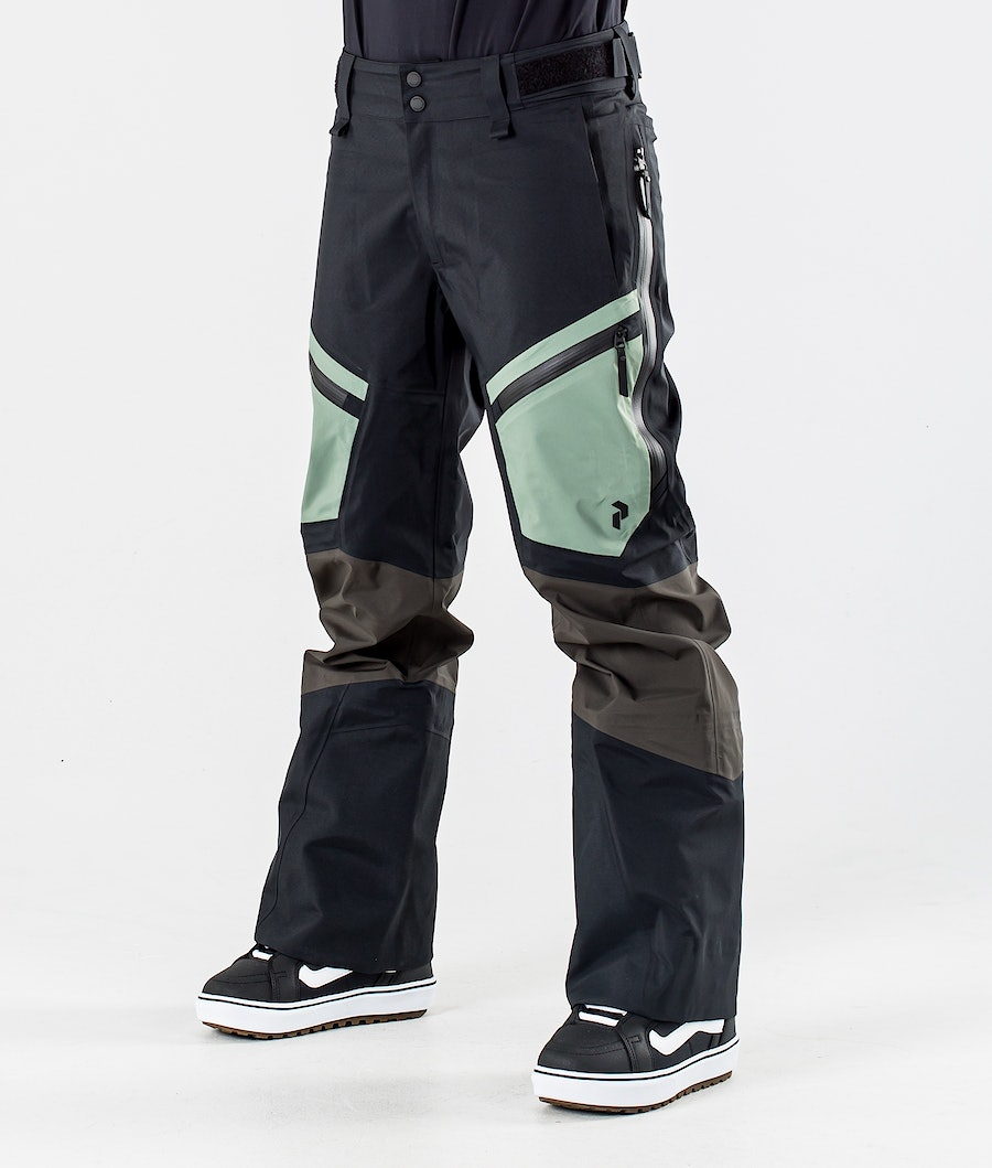 Peak Performance Gravity Snowboardhose Coniferous Green