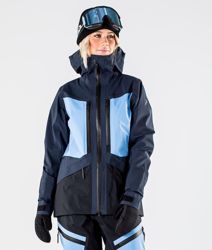 Peak Performance Gravity Snowboardjacke Blue Shadow