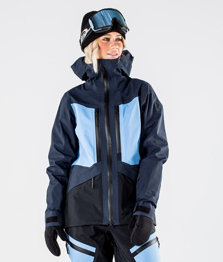 Peak Performance Gravity Veste de Ski Blue Shadow