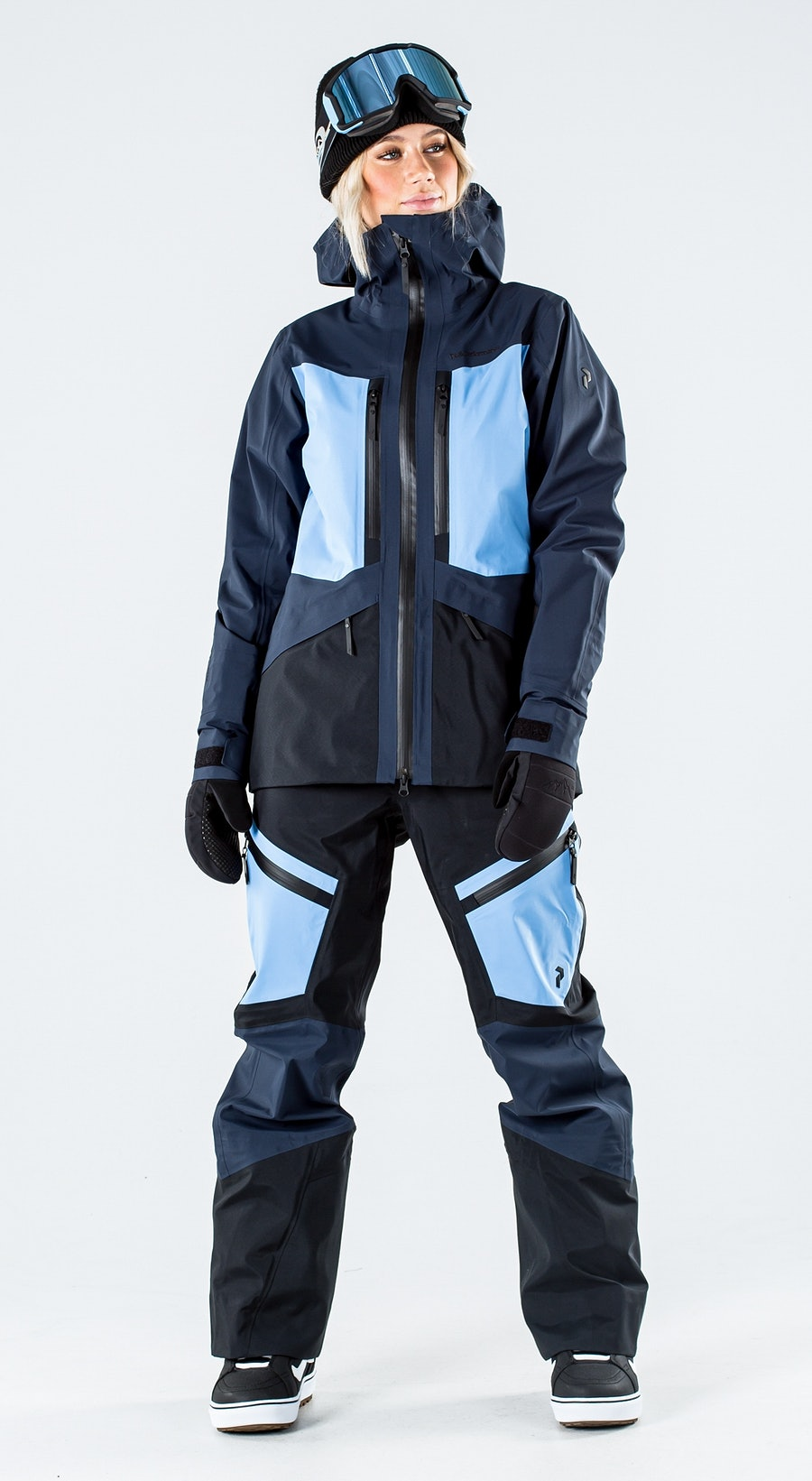 Peak Performance Gravity Blue Shadow Vêtements de Snowboard  Multi