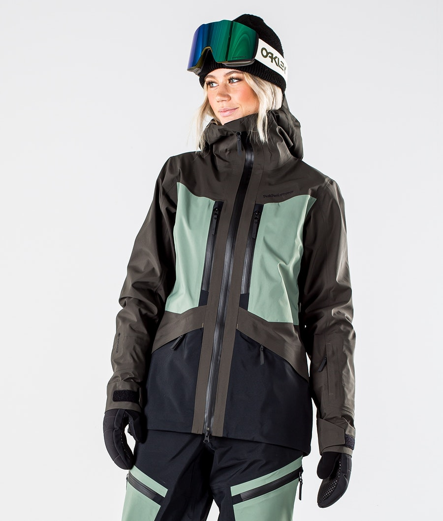 Peak Performance Gravity Veste de Ski Coniferous Green
