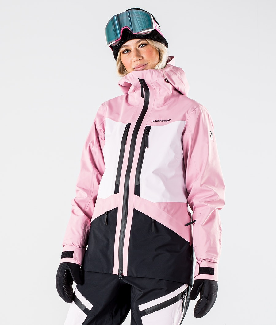 Peak Performance Gravity Veste de Ski Frosty Rose
