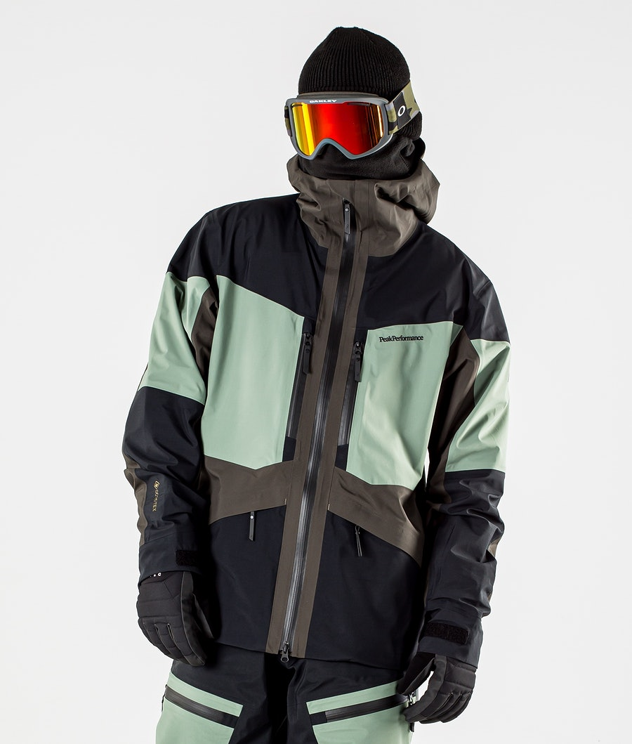 Peak Performance Gravity Ski Jacket Coniferous Green