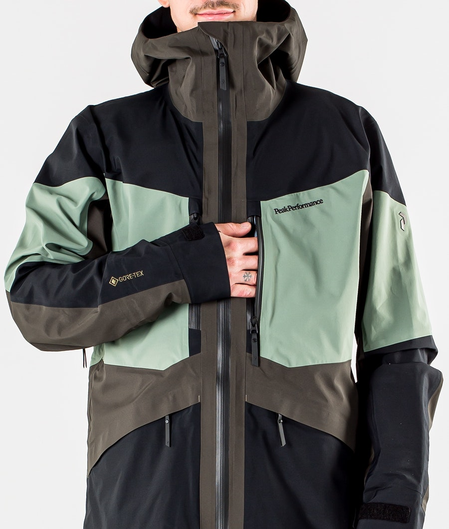 Peak Performance Gravity Giacca da Snowboard Coniferous Green