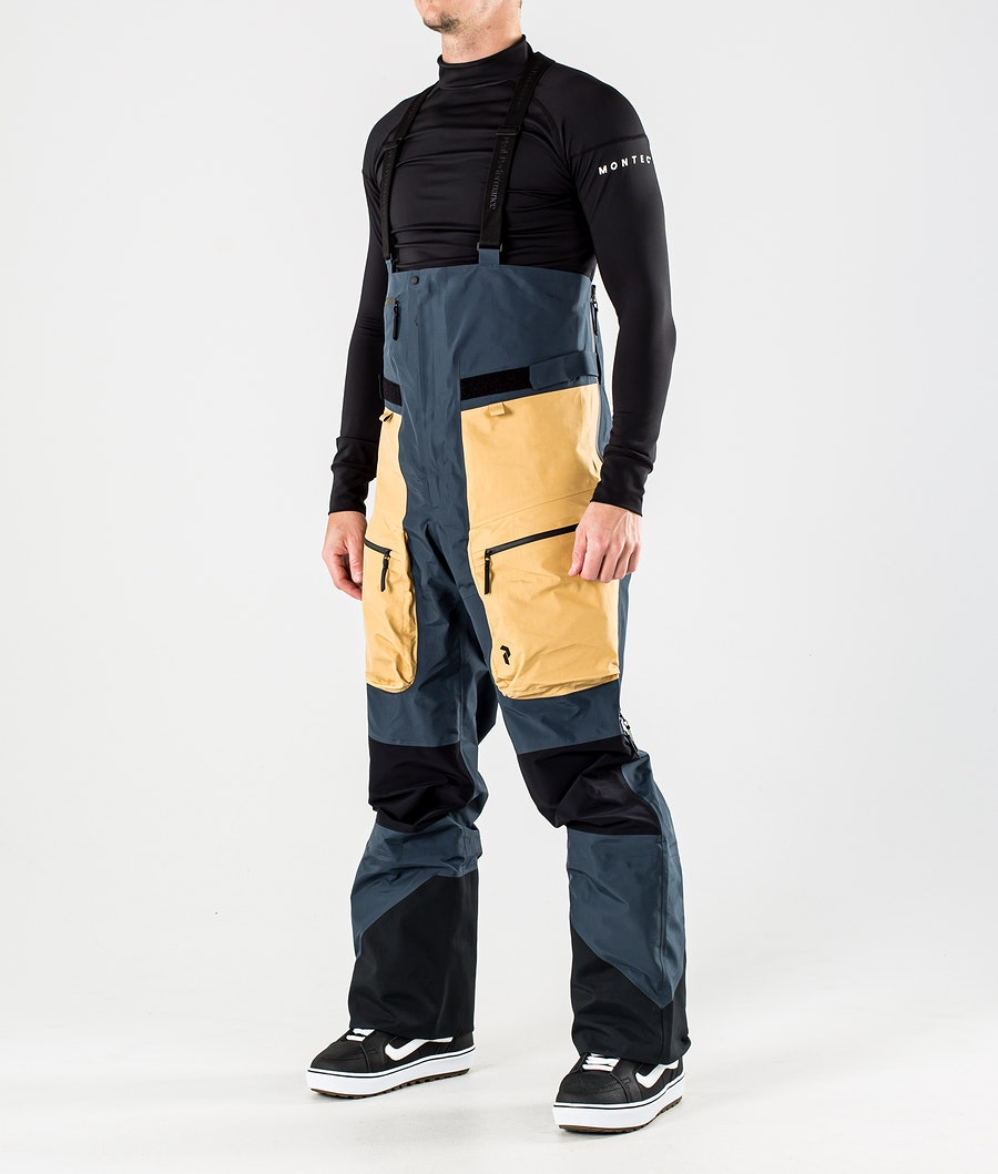 Peak Performance Vertical Pro Snowboardhose Blue Steel