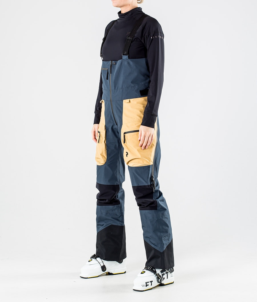 Peak Performance Vertical Pro Pantalon de Ski Blue Steel
